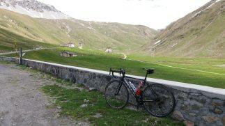 Subida ao Passo dello Stelvio pedalando