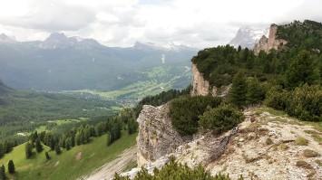 visual do vale de Cortina