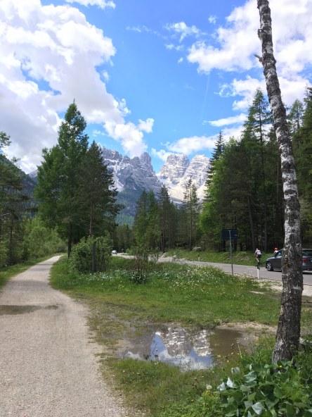 nos arredores de Cortina