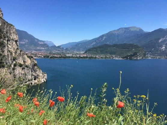 Lago di Garda - vista da Strada del Ponale