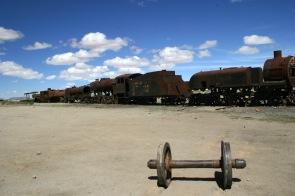 Algum local no altiplano boliviano